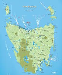 tasmania maps  australia  maps of tasmania (tas)