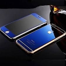 generic iphone 6 4 7 inch only screen protector front back mirror tempered