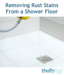 how to get rust stains out of shower rust removing shower filter removing rust stains from