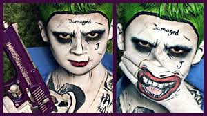 kids version squad joker pop art makeup