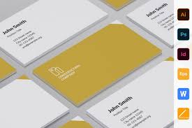 Namecard Format Construction Business Card Template Visiting Design Free