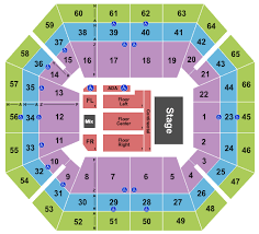 Extramile Arena Seating Chart Boise