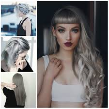Latest Grey Hairstyle Ideas Haircuts Hairstyles 2017 And Hair Gray Hair Styles 2017