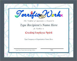 Employee Certificate Of Appreciation Printable Certificate Of Appreciation Template For Employee Word
