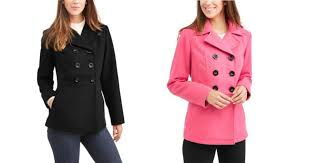hot hot hot deal at right now score a woman s peacoat for 12 reg 40 there are a few colors to choose from