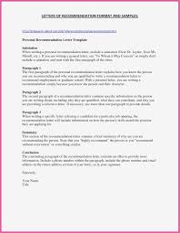 Job Recommendation Letter For A Friend With Sample Personal