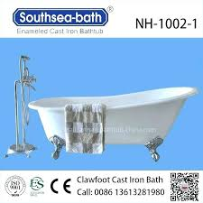 enameled cast iron bathtub bathtubs enameled cast iron bathtub cleaning tub repair scratch re enamel cast