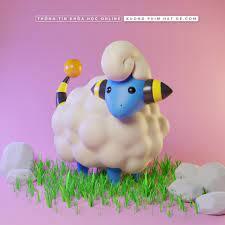ArtStation - Pokemon mareep Modeling , HatDe Pictures