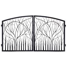 Decorative Metal Gates Design Magnificent Metal Garden Gates Gate Iron Regarding Design 32 Hottamalesrest With