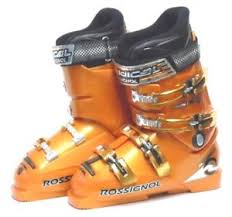 Details About Rossignol Radical Junior Ski Boots Size 7 Mondo 25 Used