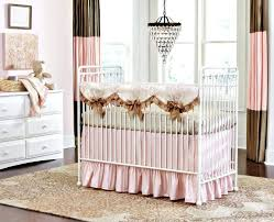 ivory crib skirt full size of nursery colored crib bedding plus pink and gold crib blanket
