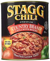 chili can.  Can Stagg Chili Country Brand 108Ounce Can Inside 0