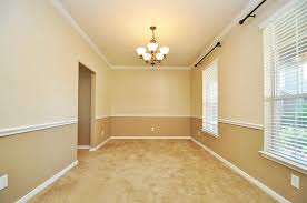 Formal Two Tone Walls with Chair Rail