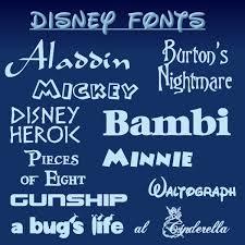 Disney Font Top 10 Free Walt Disney Fonts Featuring Walt Disneys