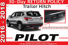 genuine oem honda pilot trailer hitch 2016 2018 (08l92 tg7 100) ebay  at Trailer Hitch And Wiring Harness For Honda Pilot 2016 Cost