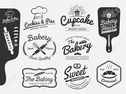 ベーカリーとパンのロゴ ラベルのセットをすべて使用される種類の無料商用フォント