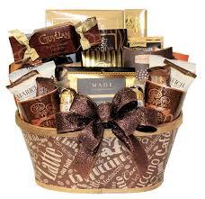 coffee lover gourmet gift basket
