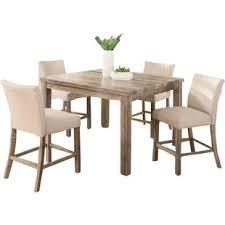 shaunda cal 5 piece counter height dining set