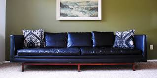mid century leather sofa. Delighful Leather In Mid Century Leather Sofa F