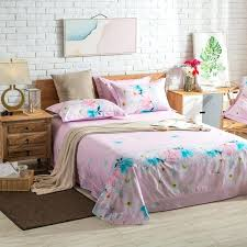 cherry blossom bedroom set pink flowers daisy magnolia cherry blossoms bedding set queen king size cotton