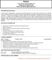 Example of resume for quality engineer Meganwest co Software Testing Sample  Resume Resume Examples Qa Tester