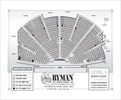 Ryman Seating Chart With Seat Numbers 24 Seating Chart Templates Doc Pdf Free Premium