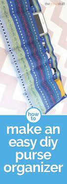 how to make an easy diy purse organizer thegoodstuff