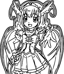 Kleurplaat Glitter Force Glitter Force Come Here Coloring Page