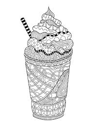 You can simply choose the simple coloring sheets as ice cream truck, banana split, ice cream floats, up to the more complex one such as multi layer ice cream cone, ice thanks for making these pages easy to get. Free Ice Cream Coloring Pages For Adults Printable To Download Ice Cream Coloring Pages