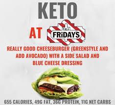 Keto At T G I Fridays In 2019 Keto Keto Fast Food Keto