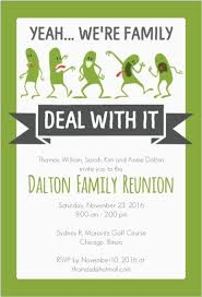 Get Together Invitation Template Enchanting Funny Family Reunion Invitation Family History Pinte