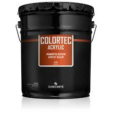 1 gallon and 5 gallon driveways sidewalk concrete colored paint low voc option colortec acrylic