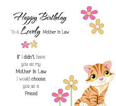 Beautiful Mother In Law Quotes Best of Mother In Law Birthday Cards Mother In Law Birthday Cards Fresh