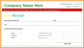 Cheque Payment Receipt Format In Word Inspiration Money Receipt Template Cheque Free Cash Received Word Doc India