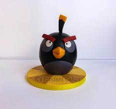 Angry Bird Bomb — Birthday Cakes