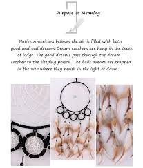 Meaning Behind Dream Catchers 100 Handmade Native American Dream Catcher Wall Hanging Art 97