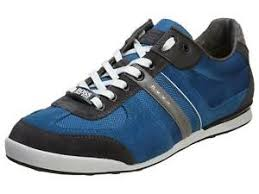 Hugo Boss Mens Shoes Size Chart Details About New Hugo Boss Mens Premium Sport Sneaker Shoes Akeen Medium Blue 50247604 421