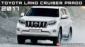 2017 Toyota Land Cruiser Prado Review Rendered Price Specs Release ...