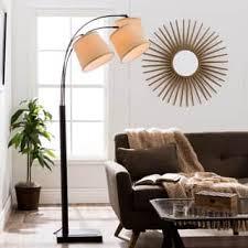 living room floor lamps. avery 3-light arc black floor lamp living room lamps e