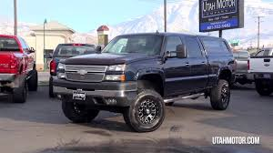 2006 Chevrolet Silverado 2500HD LT3 Lifted 6.6L Duramax - Utah ...