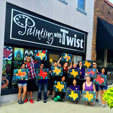 painting with a twist 10 reviews art cl 208 w oak st denton tx phone number yelp