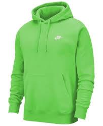 Mens Sportswear Club Fleece Pullover Hoodie In Grn Nebula
