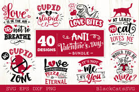 My goal is to always keep hello svg free for personal and commercial use, but running a popular free download site can get costly. Anti Valentine S Day Bundle Graphic By Blackcatsmedia Creative Fabrica
