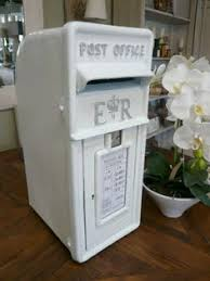 royal mail post box in red or white, for cards, wedding, hire only Wedding Card Post Box Sign beautiful white wedding post box which is available to keep all your cards and small presents safe at your wedding as it is locked Printable Sign Wedding Card Box