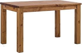 Amazon Com Tablechamp Dining Room Table Rio 47 X 30 Brazil Solid Wood Pine Oiled Extension Extendable Table Benches