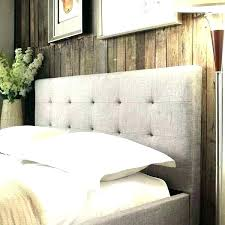 diy tufted headboard easy upholstered with nailhead trim and 2 inch foam using pegboard
