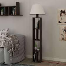 Buy Multifunctional Floor Lamp With Shelving Bookshelf With Light
