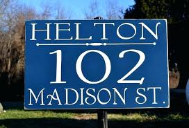 outdoor wood signs plaques personalized wooden customized colors address e sign custom house made number plaque