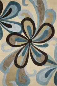 kas rugs milan 2120 sand teal groove area rug contemporary area rugs by incredible rugs and decor