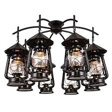 qzy led vintage wrought iron chandeliers tz style 8 lights black classic pendant light oil rubbed bronze